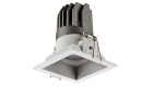 15W Recessed Fixed LED Commercial Down Lights Square