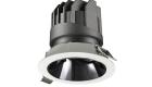 LETGO 8W 12W Anti Glare Recessed LED Down Lights Round Trim