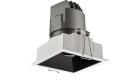 LETGO 8W 12W Anti Glare Recessed LED Down Lights Square Trim Fixed