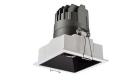 LETGO 8W 12W Anti Glare Recessed LED Down Lights Square Trim