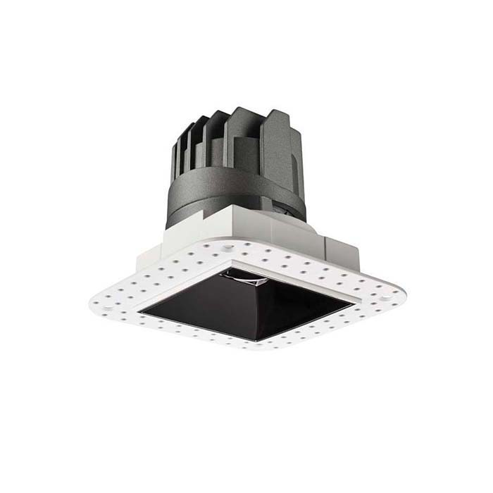 LETGO 8W 12W Anti Glare Recessed LED Down Lights Square Trimless