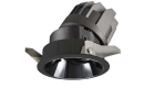 LETGO 8W 12W Anti Glare Recessed LED Down Lights Round Black Trim