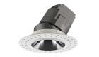 LETGO 8W 12W Adjustable Anti Glare Recessed LED Down Lights Round Trimless
