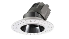 LETGO 8W 12W Anti Glare Recessed LED Down Lights Round Trimless