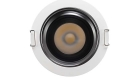 LETGO Down Light Round Fixed Front View 75mm